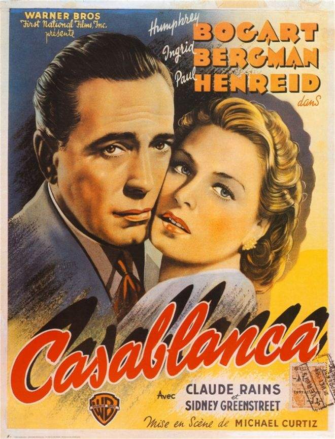 a discussion on american values in the movie casablanca
